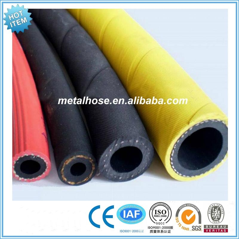 GB standard yellow compressed air rubber hose 1