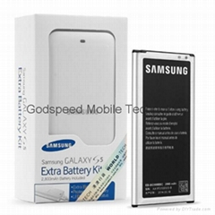 2800mAh Battery+Charger Kit for Samsung Galaxy S5 G900T T-Mobile G900A AT&T