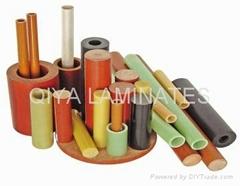 Epoxy glass cloth laminated rods