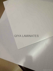 Glass-epoxy laminates with white color
