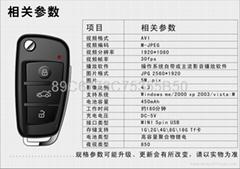 高清奧迪鑰匙扣夜視攝像機S820