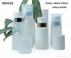 100ml 150ml 250ml plastic solid  cosmetic  airless  bottle