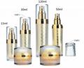 15ml 30ml 50ml 120ml luxury plastic cosmetic acrylic jar with diamond pattern st 1