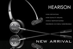 Headset Expert Hearison!New model A310B ultra clear business headset