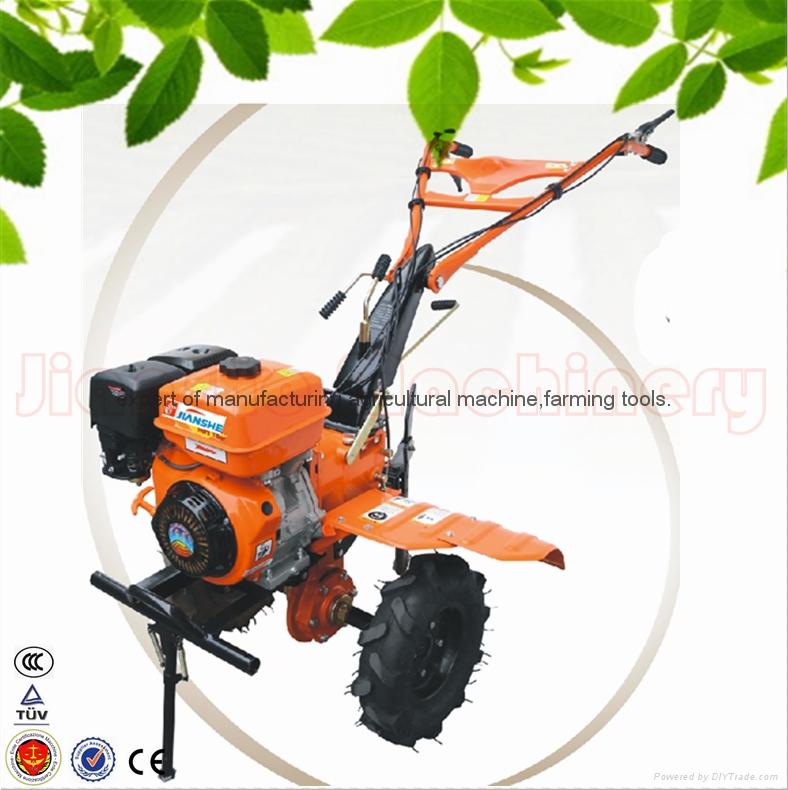 168F gear driven scale down farm tiller cultivator rotovator 1
