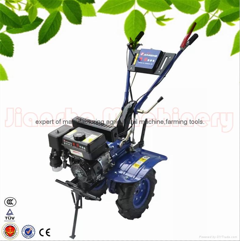 168F gear driven scale down farm tiller cultivator rotovator 2