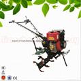 168F gear driven scale down farm tiller cultivator rotovator 5