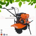7HP multi purpose gasoline agricultural tiller cultivator rotovator 2
