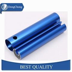 Round aluminium tube square alloy pipe