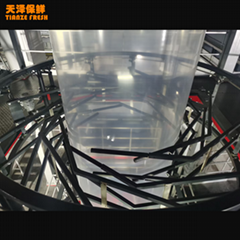 Coextrusion Multi-Layer Clear Food Packaging PA PE Film Tubing Film