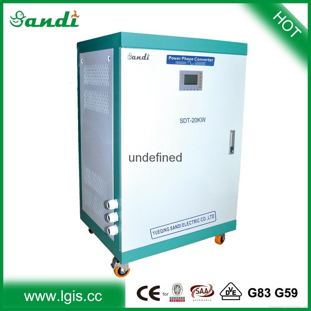 Single Phase 120 220 230 240v To 3 Phase 440v Converter