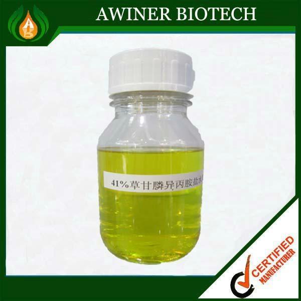 agrochemical rice weedicides herbicide GLYPHOSATE 41%SL 480G/L SL 1