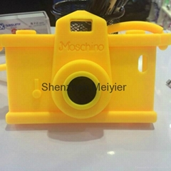 NEW arrival Moschino camera style  silicon iphone 6 cover