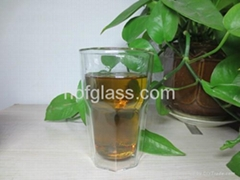 2015 New Design Double Wall Glass