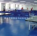 青島乒乓球PVC運動塑膠地板 4