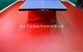 青島乒乓球PVC運動塑膠地板 2