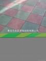 青島運動安全橡膠地墊 5