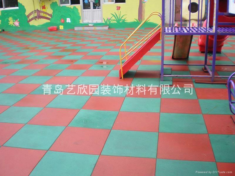 青島運動安全橡膠地墊 2