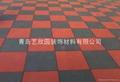 青島運動安全橡膠地墊 1