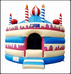 Inflatable Cake Room with PVC Tarpaulin