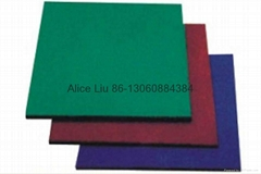 Hot sale! Quality 1 inch thick rubber mat