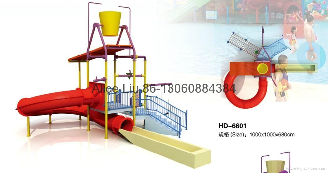 Newest Simple Design Water Park Manufacturer Hd 6601