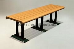 厂家直供户外木质躺椅排椅