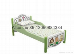 (HC-2305)HIGH QUALITY USED WOOD CHILDREN BEDROOM SET