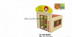 (HC-2909)CHILDHOOD DREAM !!!DOLL HOUSE!! INDOOR KIDS DOLL HOUSE
