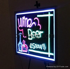Illuminated LED Writing Board