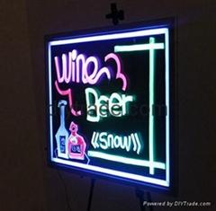 Illuminated LED Writing