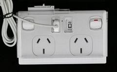 SAA certified AU standard Australia USB wall socket for iPhone and iPad