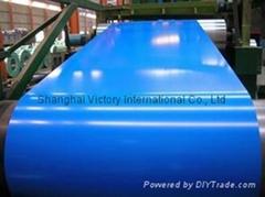 prepanited steel sheet