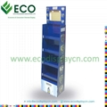 lcd display, recycle cardboard caton floor display with lcd screen 3