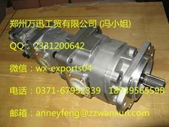 Komatsu loader WA320-6 spare parts hydraulic gear pump 705-56-36050