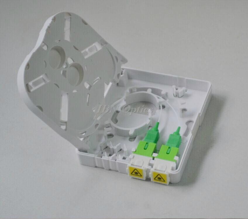 New Type 2 Port Fiber Optic Termination Box China
