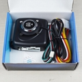 12V Auto Engine push button keyless entry system with start-stop car alarm  4