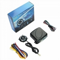 12V Auto Engine push button keyless entry system with start-stop car alarm  1