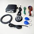 12V Auto Car Alarm Engine Push Button