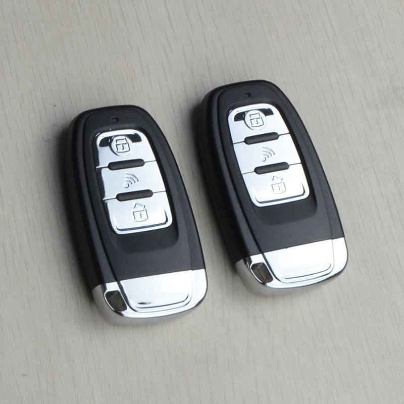 通用一键启动 遥控器远程启动汽车改装PKE无钥匙进入系统防盗器 2