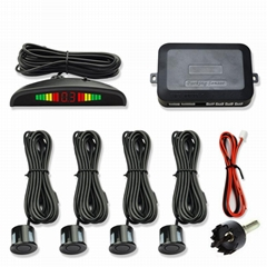 Car Auto Parking Sensor with 4 Sensors Reverse Backup Car Parking Radar System