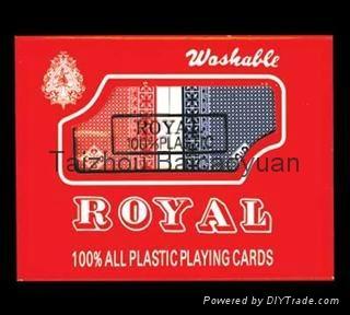 塑料撲克牌 1