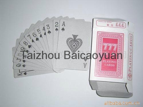 playing cards 777 series 1