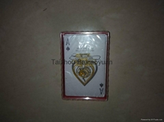 ingel brand of plastic playing cards