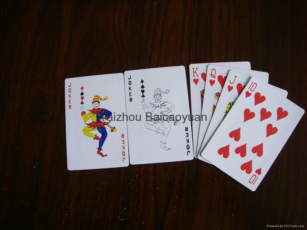 playing cards 5