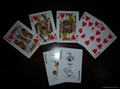 flying wheel playing cards