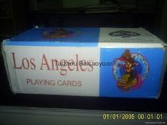 廣告撲克牌