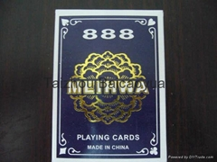 888 meihua brand playing cards