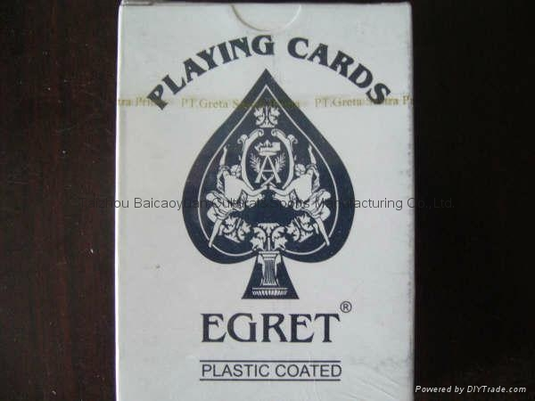 727 egret brand of playing cards