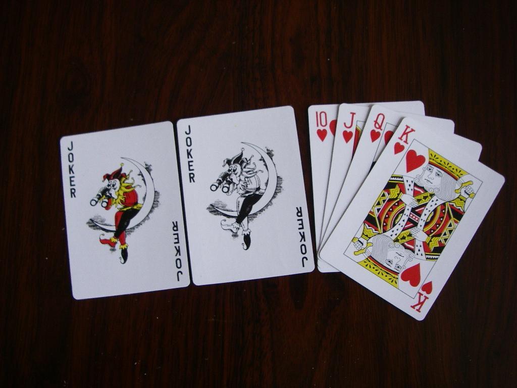 扑克牌 1